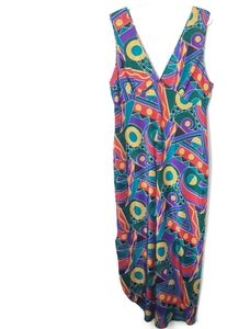 Vintage Patterned Nightgown